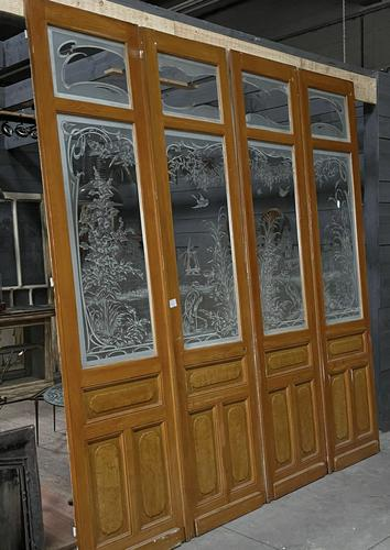 Wonderful Set of 4 French Chateau Doors (1 of 22)