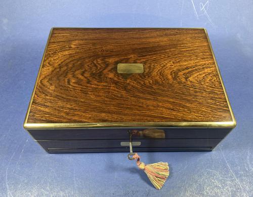 Victorian Rosewood Gentlemen's Vaniety Box (1 of 13)