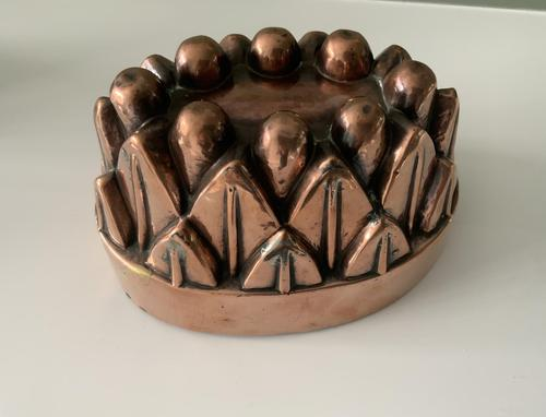 Victorian Copper Jelly Mould (1 of 5)