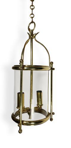 French Round & Glass Lantern (1 of 4)