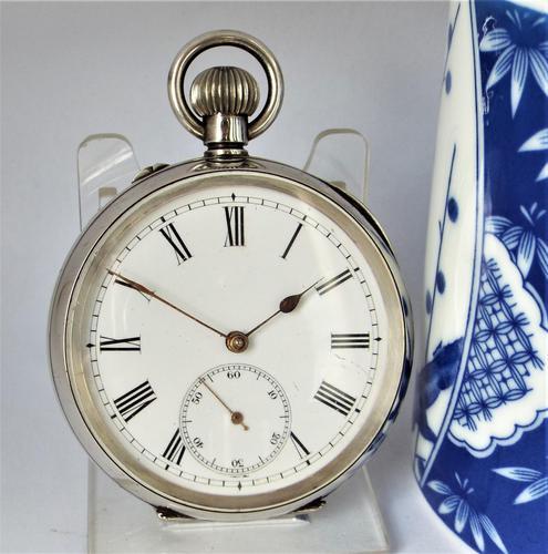 Antique Swiss Silver Pocket Watch (1 of 5)