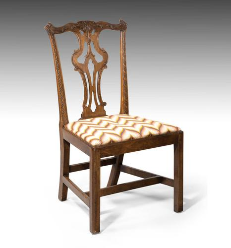 Attractive Late 18th Century Mahogany Single Chair (1 of 5)