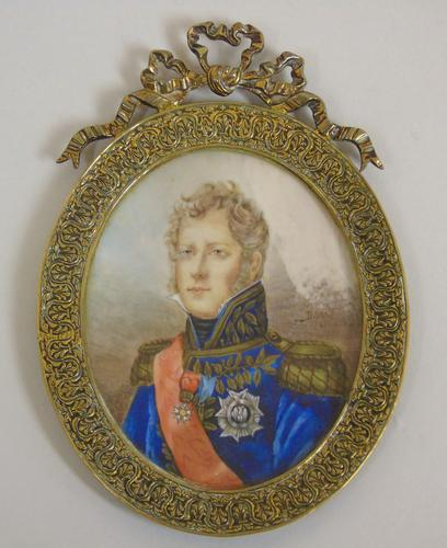 Outstanding Portrait Miniature. Marshall of the Empire. Michel Ney (1 of 6)