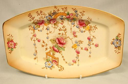 Antique Crown Devon Shaped Serving Plate (1 of 4)