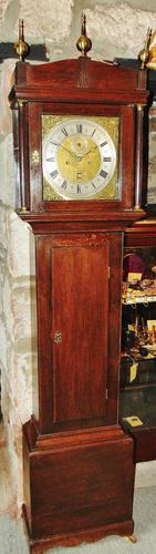 George III Oak Longcase Clock (1 of 11)