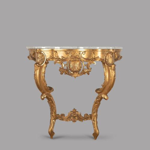 19th Century French Giltwood & Ormolu Console Table (1 of 4)