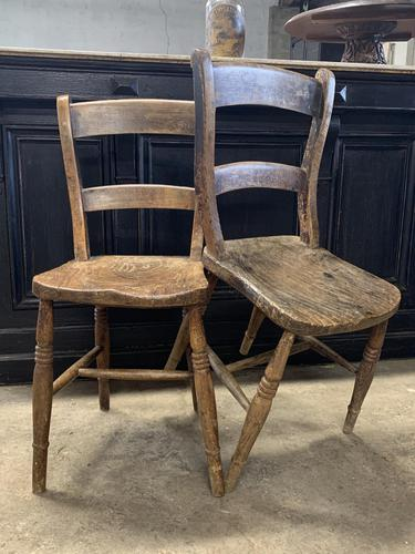 Pair of Victorian Children's  Chairs (1 of 4)