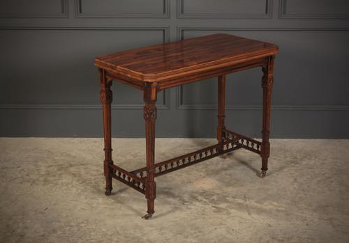 Rosewood Aesthetic Card Table (1 of 16)