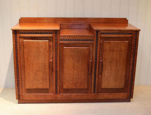 Early 20th Century Golden Oak Sideboard (1 of 10)