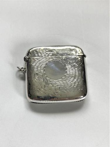 Unusual Edwardian Silver Vesta (1 of 5)