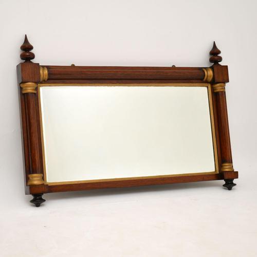 Antique William IV Rosewood & Gilt Mirror (1 of 9)