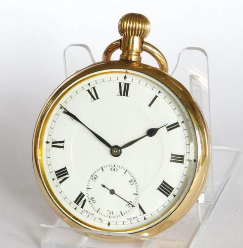 Antique 1920s Doxa Pocket Watch (1 of 5)