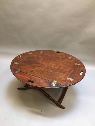 Georgian butlers tray coffee table (1 of 7)