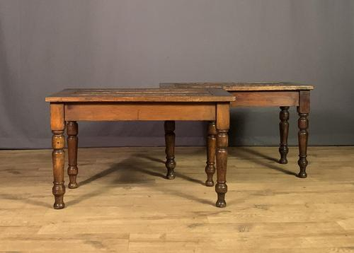 Great pair of oak countryhouse hotel luggage racks (1 of 12)