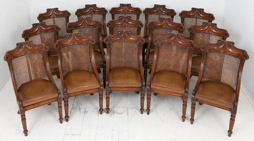 Wonderful Set of Regency Style Mahogany Chairs (1 of 9)