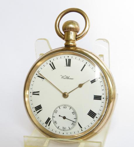 Antique Waltham Traveler Pocket Watch, 1907 (1 of 5)