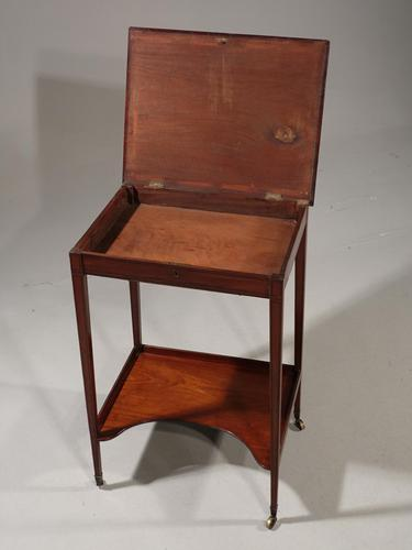 Very Good George III Period Mahogany Work or Occasional Table (1 of 6)