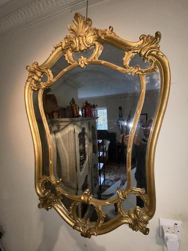 Louis XV Style Gilt Mirror (1 of 7)