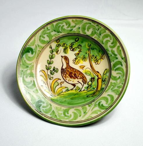 20th Century Display Plate by Bruno Depicting a Partridge (1 of 6)