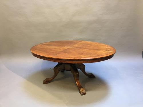 Victorian Oval Coffee Table (1 of 7)