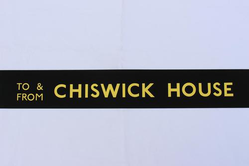 London Transport Slipboard Poster for Chiswick House (1 of 1)