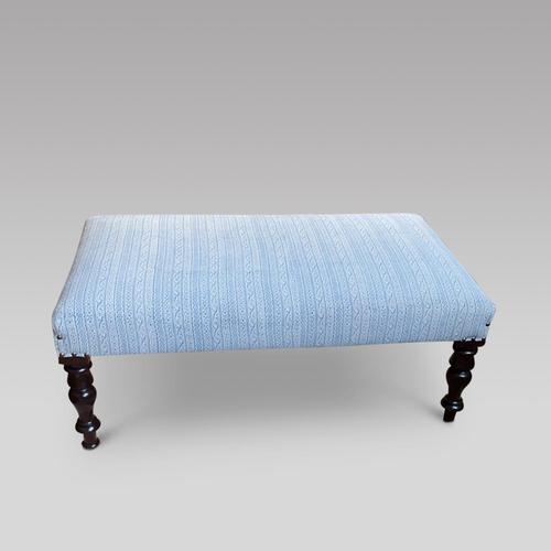 Reupholstered Stool (1 of 2)