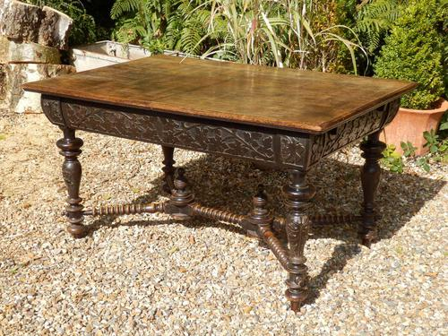 Oak Victorian Extending Dining Table (1 of 7)