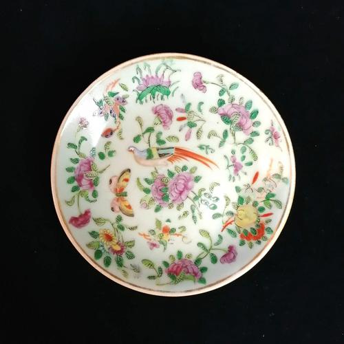Chinese Porcelain Fencai, Celadon Plate, Qing Dynasty Tongzhi Period (1 of 8)