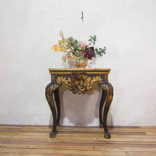 Exceptional 18th Century Italian Baroque Console Table (1 of 14)