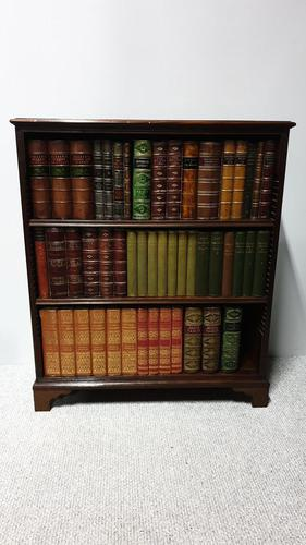 Regency Mahogany Adjustable Open Bookcase (1 of 8)
