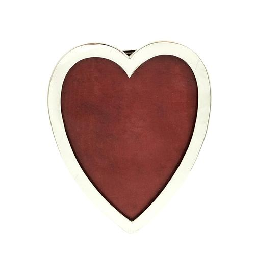 Antique Victorian Sterling Silver Heart Photo Frame 1893 (1 of 8)