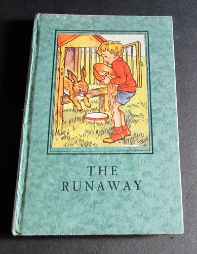 1949 Ladybird Book, The Runaway by A. J MacGregor, 2nd Edition with Original Dust Jacket (1 of 4)