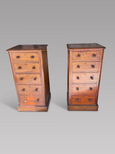 Pair of Victorian Bedside Tables (1 of 4)