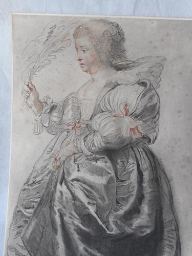 19th Century Rubens Lithograph (1 of 3)