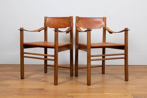 Leather Ibisco Sedie Chairs We Have 2 (1 of 13)