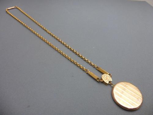 Edwardian Locket & Chain (1 of 3)