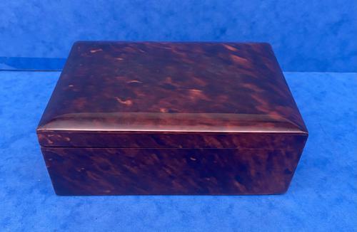 1930s Tortoiseshell Table Box (1 of 11)