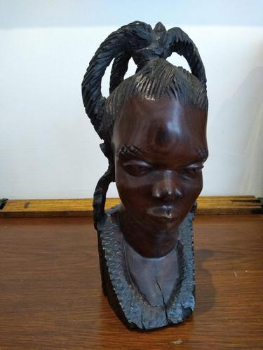 Ebonised African Tribal Tree Carving (1 of 8)