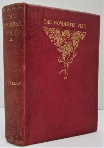 H. G. Wells, The Wonderful Visit, 1895, scarce first edition first printing (1 of 2)