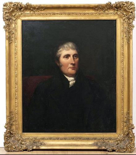 19th Century Male Portrait - Oil on Canvas (1 of 3)