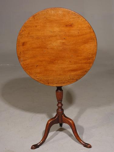 Attractive George III Period Mahogany Tilt Table (1 of 4)