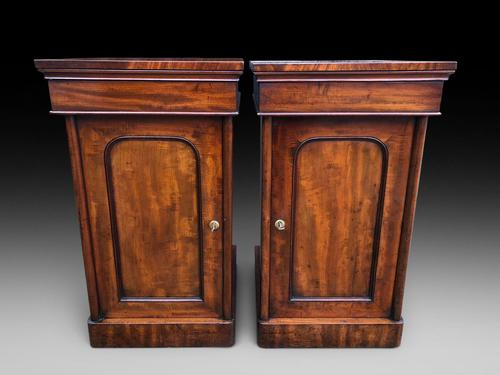 Pair of Mahogany Bedside Cabinets (1 of 5)