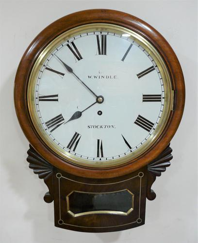 Exquisite 1837 English Fusee Drop Dial Timepiece by William Windle (1 of 11)