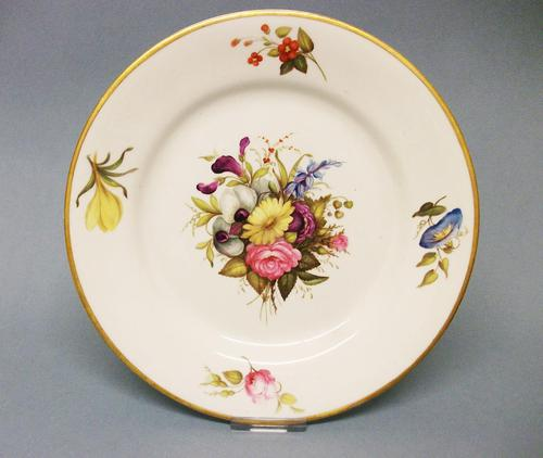Very Fine Derby Dessert Plate c.1805 (1 of 7)