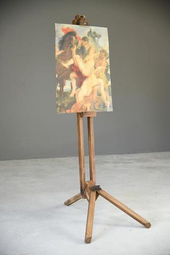 Large Wooden Artist Easel (1 of 12)