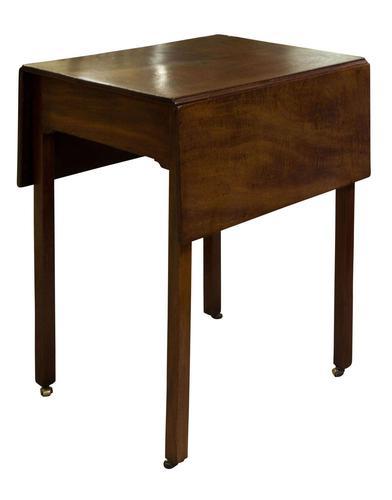 George III Mahogany Pembroke Table (1 of 7)
