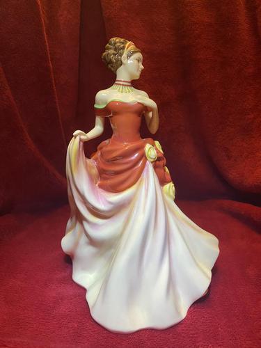 "Royal Doulton HN5465 titled ""Autumn Ball"" Figurine (1 of 9)"