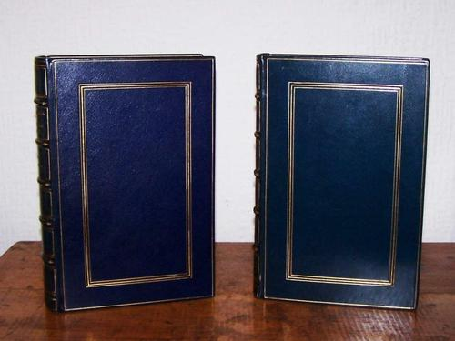 2 Leather Bound 1st Edition Christian Books by Jane T Stoddart Sangorski Bindings (1 of 6)