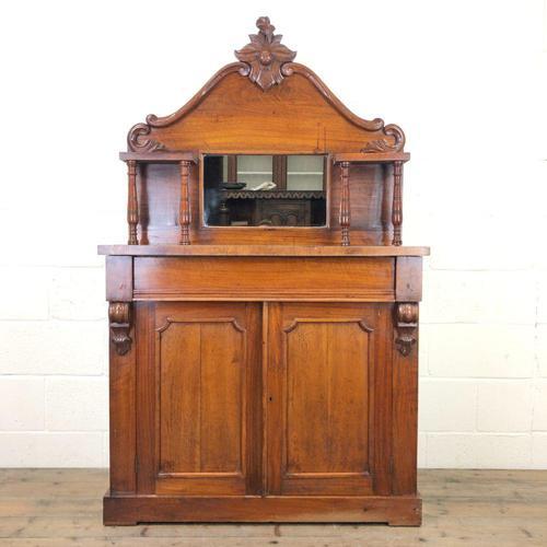 Victorian Mahogany Chiffonier with Mirror Back (1 of 10)