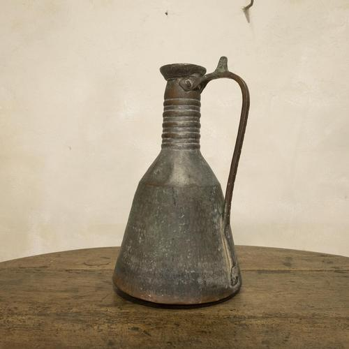 19th Century Middle Eastern Copper Ewer (1 of 13)